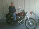 Me and my Harley circa 2009,  Andrew Hartley