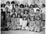 Brownie Troop, Eugene Field about 1959. Can you identify these little girls?